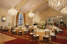 Town and Gown Ballroom at USC - if I could be so lucky :)