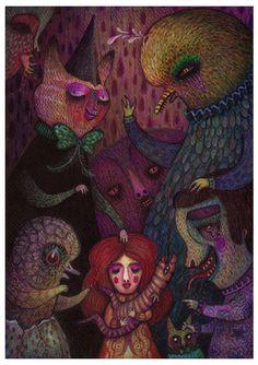 Illustrations 2010 by V L A D I M I R , via Behance