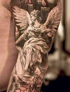 tattoo de anjo no braço - Pesquisa Google