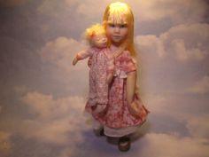 Sweet Jenny~ Handsculpted Original Art Doll