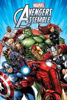 New #marvel comics #avengers assemble characters #poster,  View more on the LINK: 	http://www.zeppy.io/product/gb/2/380781579350/