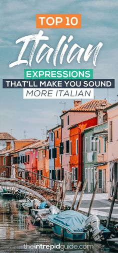 """Fool the locals and sound """"molto Italiano"""" with these common Italian phrases that Italians love to use every day. Acqua in bocca! Best Language Learning Apps, Learning Languages Tips, Learn A New Language, Learning Resources, Italian Phrases, Italian Quotes, Italy Vacation, Italy Travel, Italian Language"""