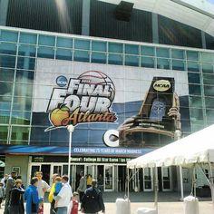 Georgia Dome - Final Four 2013