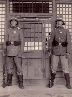 "German veterans of the China Relief Expedition ""Boxer Rebellion"", 1898-1900."