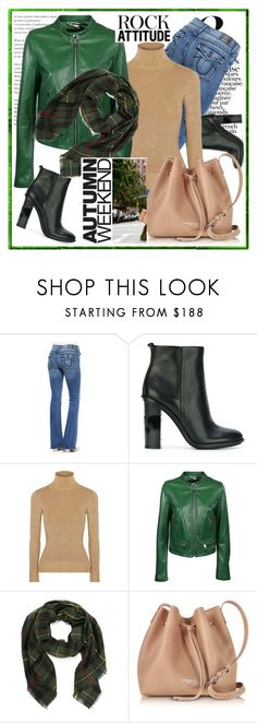 """""""Autumn weekend"""" by stars-5 ❤ liked on Polyvore featuring True Religion, Tory Burch, JoosTricot, Dolce&Gabbana and Lancaster"""