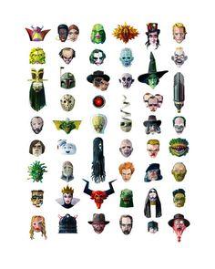 Fifty Baddies print by Robert Ball