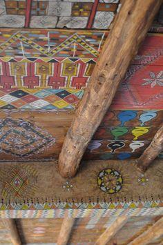 Ceiling embellishment: Berber Lodge, paradise in a Moroccan Berber village - Belgian Pearls