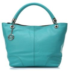 wardow.com - #Lancel, French Flair Shopper Leder tuerkis 44 cm, #blue, #bag