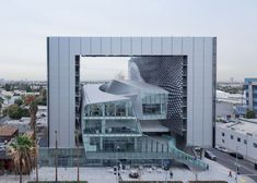 Emerson College campus by Morphosis places curvy classrooms within a hollow frame, http://www.dezeen.com/2014/02/27/emerson-college-los-angeles-morphosis/