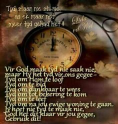 Tyd Afrikaans, God, Ideas, Dios, Allah, Thoughts, The Lord