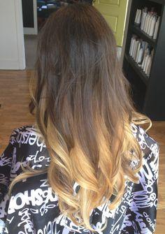 Ombré Hair Color by Dawn Riley  Three's Company Salon