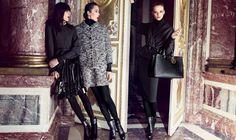 Dior Secret Garden-Versailles 2012 Melissa Stasiuk, Xiao Wen Ju & Daria Strokous by Inez van Lamsweerde & Vinoodh Matadin styled Carlyne Cerf de Dudzeele