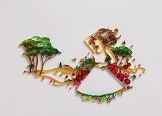 Mentes Imundas e Belas: A hipnotizante arte de papel de Yulia Brodskaya