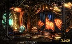 concept art room steampunk - Google 検索