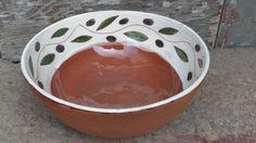 Wheelthrown bowl by www.cigdemspottery.com