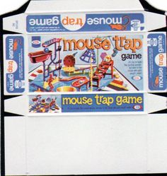 Mouse Trap Game Printable for Dollhouse.