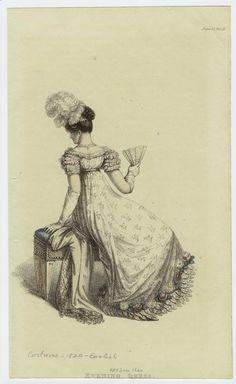 История вещей, костюма, искусства, мебели, интерьера и быта от художника кино. - Дамы. Костюмы 1820.