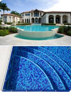 Pool Tile Design Ideas   Google Search