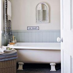 Bathroom | Gallic-inspired seaside retreat tour | housetohome.co.uk