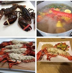 how to cook lobster uk