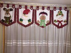 Decoupage Jars, Christmas Decorations, Holiday Decor, Ideas Para, Advent Calendar, Sewing Patterns, Merry Christmas, Cross Stitch, Curtains