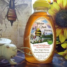 Here are our new labels for the Allergy-Bee-Gone! With the new Patent Pending icon. All U.S., All Season allergy Honey. 1 tablespoon per day will make your allergies go away! This honey will help with your allergies all year long anywhere in the U.S.. This honey contains honey from all over the U.S. with bits of pollen from all of the plants that bother allergy sufferers all year long.