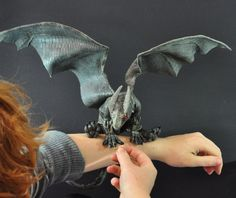 Someone in Hollywood needs to hire this VERY talented gal!  She is amazingly talented with animatronics and lifelike creatures!  How to Train Your Dragon by *Magweno on deviantART