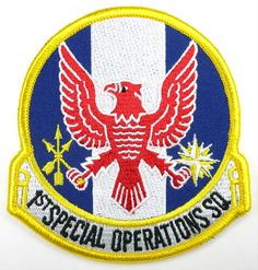 USAF 1st SOS SPECIAL OPERATIONS SQUADRON PATCH