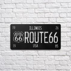 Route 66 #metal #wallart #decoration #decor #homedecor #home #idea #gift #shopping #metalart #wallhanging #walldecor #interior #steel #decorations #interiors #pinterest #raayt #sign #wallsign #diy #homedecorationidea #ideas #product #feather #feathers #geometric #geometry #minimal #minimalist #office #route #66 #typo #typography #typographic