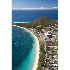Australia New South Wales Shoal Bay Port Stephens Canvas Art - David Wall DanitaDelimont (24 x 36)