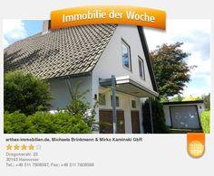 Verkaufsangebot eines freistehenden Einfamilienhaus in Celle, unweit von Hannover - aufgenommen und gepinnt vom Immobilienmakler in Hannover: arthax-immobilien.de
