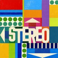 Stereo sound! mid-century modern design