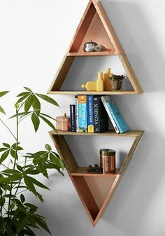 Decorate your home or dorm room with unique and festive shelving.