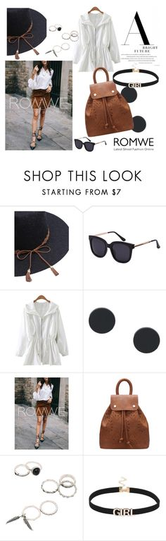 """#ROMWE"" by kristina779 ❤ liked on Polyvore featuring polyvorefashion and polylove"