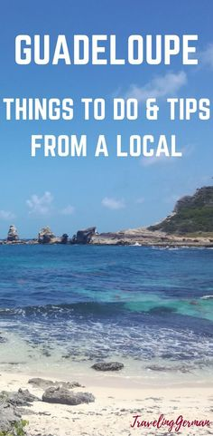 island: Things to do and travel tips from a local who grew up on Grande Terre island in Guadeloupe and knows this place inside out! Travel Essentials, Travel Tips, Travel Ideas, Places To Travel, Travel Destinations, Beach Trip, Beach Vacations, Dream Vacations, Australia Travel