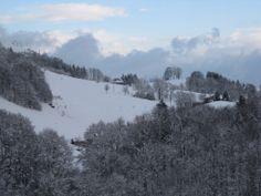 #valgandino #snow #bluesky #clouds