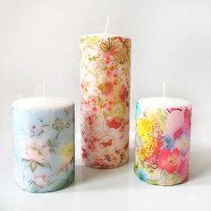 For a while now I have been dying to make myself some decoupage candles! I've been thoroughly inspired by Pinterest and lots of craft network pages on Facebook and realised it's the per…