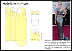 Vestido Oscar 2013