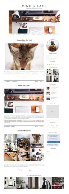 Free minimal + stylish Wordpress theme | Finds + Freebies | FEMMRE - Chic Premade Branding | web design, website design, minimal web design, feminine web design