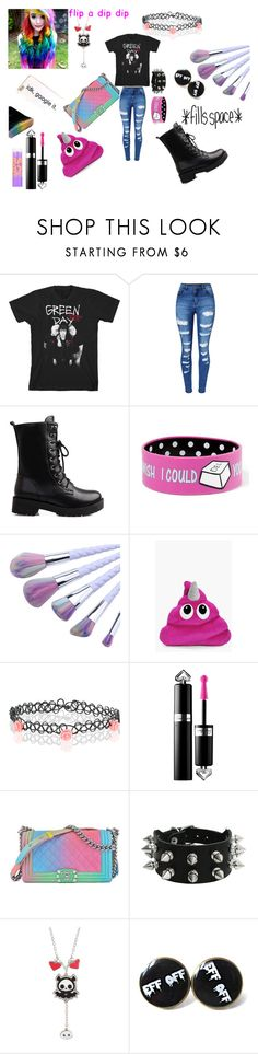 """""""Untitled #89"""" by skye98 on Polyvore featuring WithChic, claire's, Accessorize, Maybelline and Chanel"""