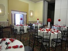 Red Decor for Events