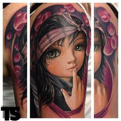 OOOOH Sooo pretty! ...Tattoo by Randy Engelhard