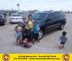 https://flic.kr/p/J3yb8C | Happy Anniversary to Maria on your #GMC #Envoy XUV from David Herrera at Auto Center of Texas! | deliverymaxx.com/DealerReviews.aspx?DealerCode=QZQH