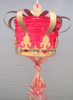 Crown Pinata for kimberly by NeverEndingCreation on Etsy