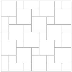 """""""Hip Hop"""" (or Hopscotch or Pinwheel) tile pattern. We're doing this in the kitchen."""
