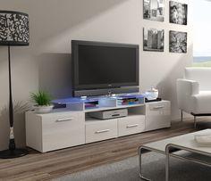 milano 157 classic black gloss tv stand tv units white tv unit and modern tv units