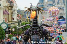 Disney's Maleficent 2014 Battle   Disney Festival of Fantasy Parade 2014 (Photographer: Nigel Worrall)