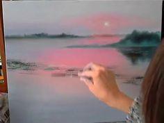 Как нарисовать туман. Мастер-класс масляной живописи М.Потороча