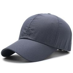 Breathable Snapback Cap