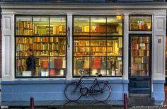 Amsterdam Books and Bike
